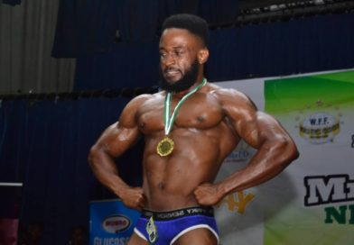 Chijioke Nwala- The Winner of Mr Flex Nigeria 2019 Light Weight