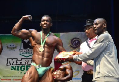 Meet Akin Coker, The Silver Medalist Heavy Weight Category, Mr Flex Nigeria 2019.