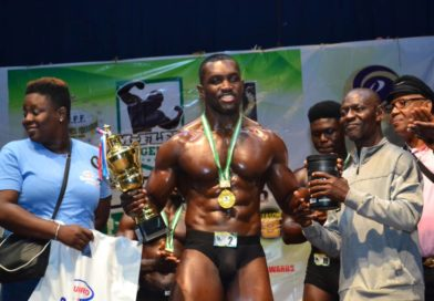 Meet King Dorghor The Gold Medalist Fitness Physique Classic Mr Flex Nigeria 2019