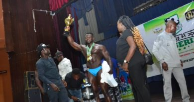 Tobi Adegboye Retains Overall Tittle of Mr Flex Nigeria 2019